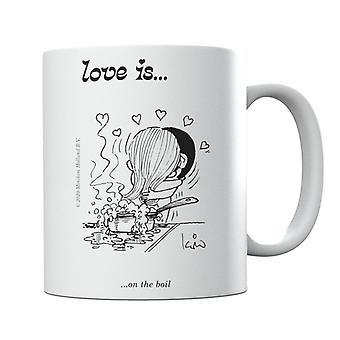 Love Is On The Boil Mug