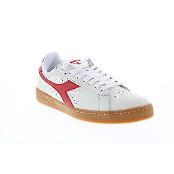 Diadora Game L Low  Mens White Leather Lifestyle Sneakers Shoes