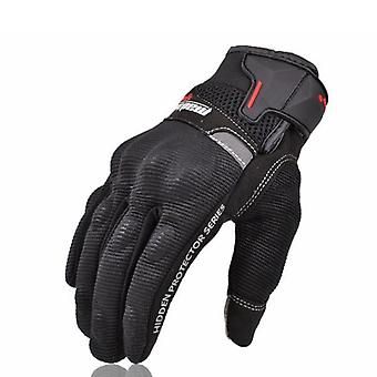 Moto Full Finger Gloves Écran tactile pour Dirt Bike Racing Cyclisme