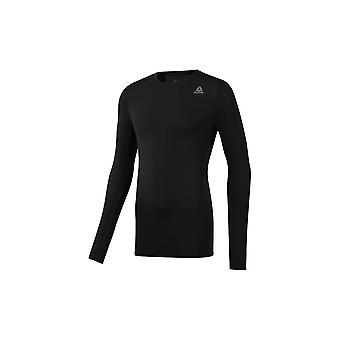 リーボックワー圧縮DP6170トレーニング一年男性のスウェットシャツ