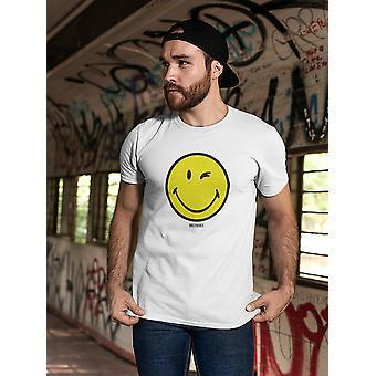 SmileyWorld Classic Yellow Happy Face Men's T-shirt