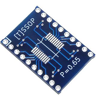 SOIC-20/TSSOP-20 to 20pin 2.54mm Adapter Module