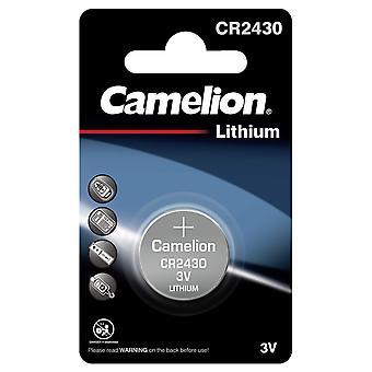 Camelion Battery CR2430 Lithium 3V