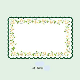 Flower Lace Series Message Notepad (20 Sheets)