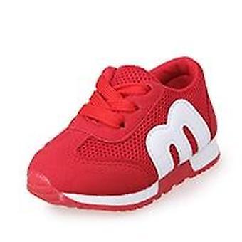 Priedušné pletivo deti topánky pre dieťa, baby. Tenisky Jeseň/jar,, Beh