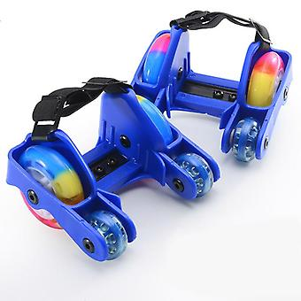 Flashing Roller, Skate Shoes With 4-wheels, Pulley Lighted, Flashing Led