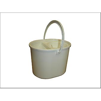 Lucy Oval Mop Bucket Red L1405291