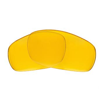 Replacement Lenses for Oakley Fives Squared Sunglasses Anti-Scratch Yellow