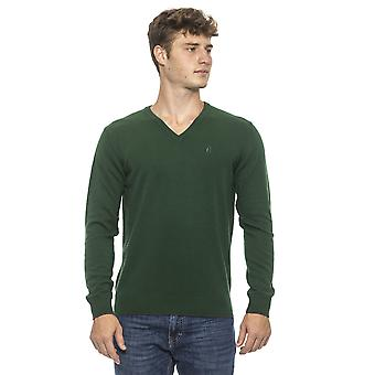 Conte of Florence Green Sweater