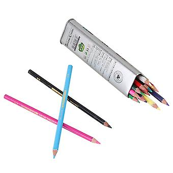 Set of 18 Children Water Soluble Colored Art Pencil For Drawing Painting