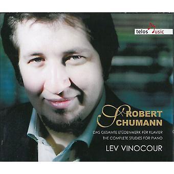 Schumann / Vinocour - Comp Studies for Pno [CD] USA import