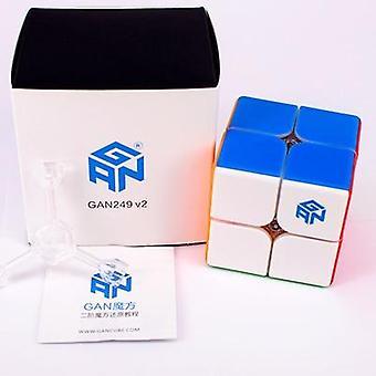 Gan249 V2 M Magnetic 2x2x2 Magic Cube Gan 249 V2m Puzzle Cube 2x2 Magnetic