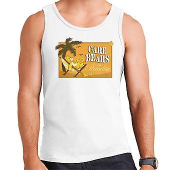 Care Bears Funshine Bear In Paradise Men's Vest