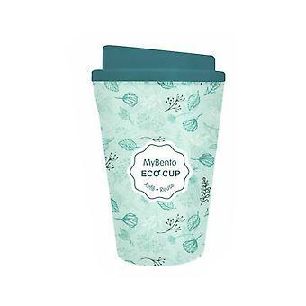 Summit MyBento Double Wall Plastic Mug Coffee Tea Travel Outdoor - Green