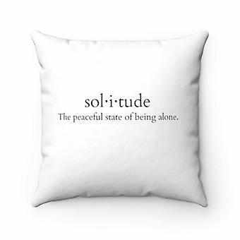 Sol-i-tude Pillow