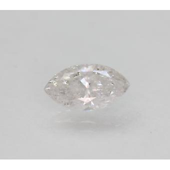 Sertifioitu 1.01 Karat D Väri SI3 Markiisi Natural Loose Diamond 9.4x5.13mm 2VG