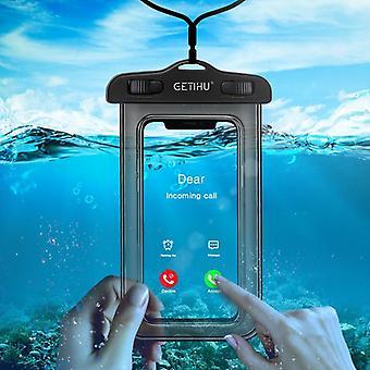 כיסוי אוניברסלי עמיד למים מקרה טלפון עמיד למים קוק שחייה תיק