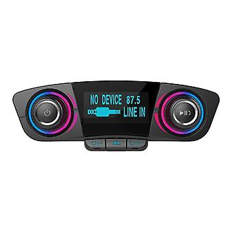 Auto Car Mp3 Player/wireless Fm Transmitter Handsfree Radio Music Player