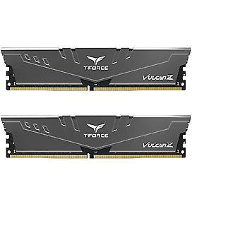Team T-Force Vulcan Z 16GB Silver Heatsink (2 x 8GB) DDR4 3200MHz DIMM System Memory