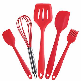 5 Pcs Silicone Kitchen Cooking Utensils