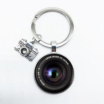 Keychain Camera Pendant With Slr Lens, Photographer,  Enthusiast Personality