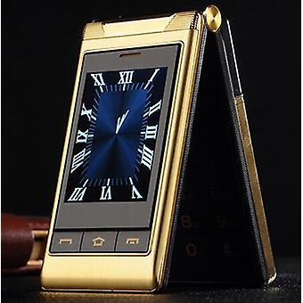 3.0 & اقتباس; الهواتف المحمولة مزدوجة الشاشة سرعة الطلب واحد مفتاح كبار الهاتف المحمول اللمس