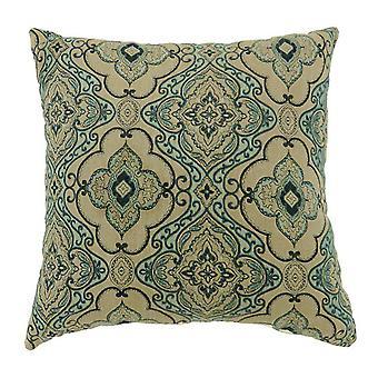 Lea Contemporary Small Pillow With Fabric, Ensemble de 2