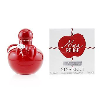 Nina Ricci Nina Rouge Eau De Toilette Spray 30ml/1oz