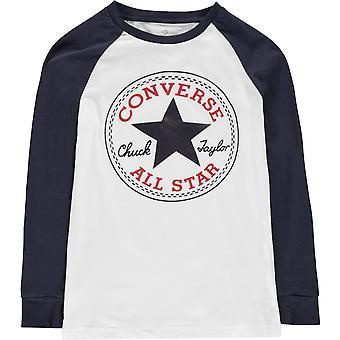 Converse Chuck Pitkähihainen T-paita Junior Boys