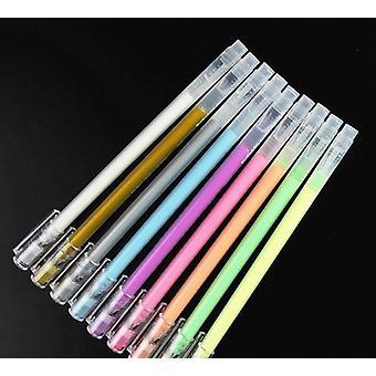 Penna in gel impermeabile, indicatore evidenziatore per disegno di sketch