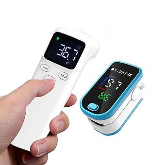 Pulse Fingertip Oximeter, Rate Measurement, Tonometer, Auto Power Finger Clip,
