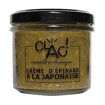 Organic vegan spread Japanese spinach cream 100 g