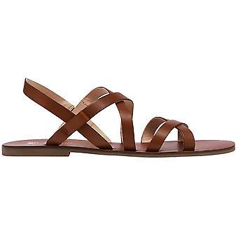 Joules mujeres Roselle ajustable cuero strappy sandalias