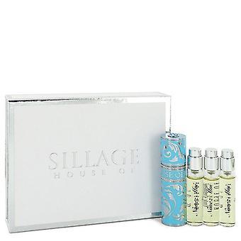 Nouez Moi Four travel size Extrait De Parfum Sprays By House Of Sillage 4  x 0.27 oz Four travel size Extrait De Parfum Sprays