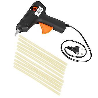 Hot melt glue gun paintless dent repair tool +10pcs sticks 40w