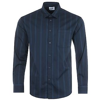 NN07 Deon Stripe Pocket Shirt - Navy