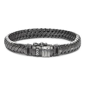 Buddha To Buddha J070BRS F Ben XS Black Rhodium Silver Size F Bracelet