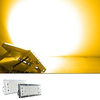 Led Flood Light, 50w Ac Floodlight Spotlight Rgb Warm Cold Led Street Lamp
