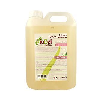 Biobel Jabón Liquido para Bebes Bio, 5 Litros