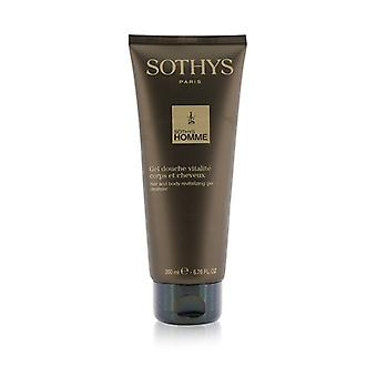 Sothys Homme Hair And Body Revitalizing Gel Cleanser 200ml/6.76oz