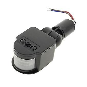 Led Motion Sensor 220v 85v-265v Automatic Infrared Pir Detector 180 Degree