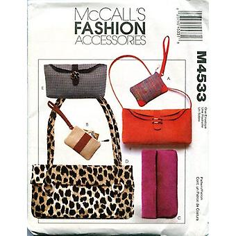 McCalls نمط الخياطة 4533 أزياء اكسسوارات حقائب اليد