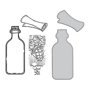 Spellbinders-leima ja kuolee -Musteviestit - Viesti pullossa