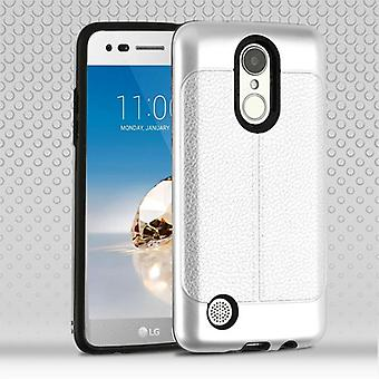 Airium Hybrid Protector Cover for MS210 (LV3)/L58VL (Rebel 2) / K4 (2017) - Silver Leather Texture / Black