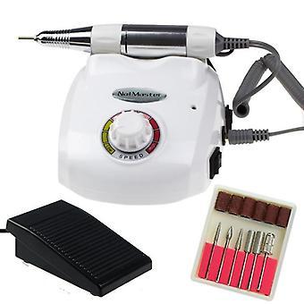 Elektrisk nagelfil - DM208 - 25000 RPM - Vit