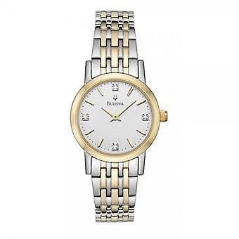 ブローバ98P115レディースダイヤモンド腕時計