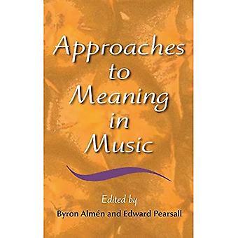 Přístupy k významu v hudbě (hudební význam a interpretace)
