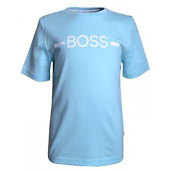 Hugo Boss Drenge Hugo Boss Infant Boy's Light Blue T-shirt