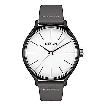 Nixon Analogueic Watch Quartz Woman with Leather Strap A1250-007-00