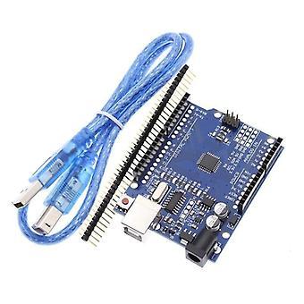 Cuiisw 1pcs Uno R3 Uno Board Uno R3 Ch340g+mega328p Chip 16mhz For Arduino Uno